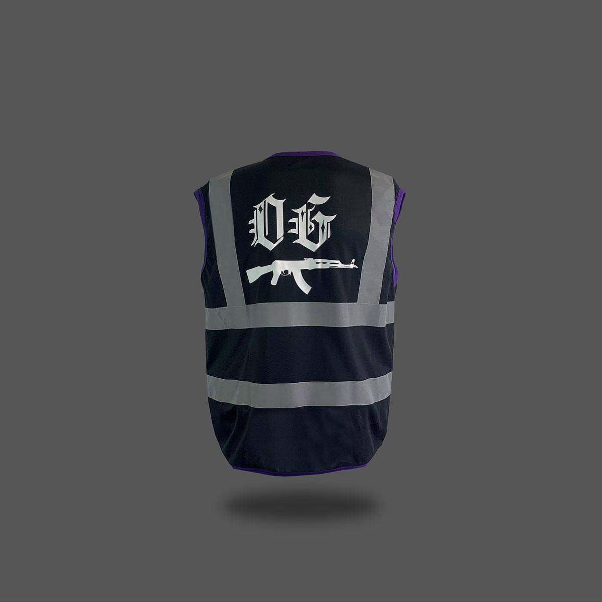 OG Reflective Vest - Black