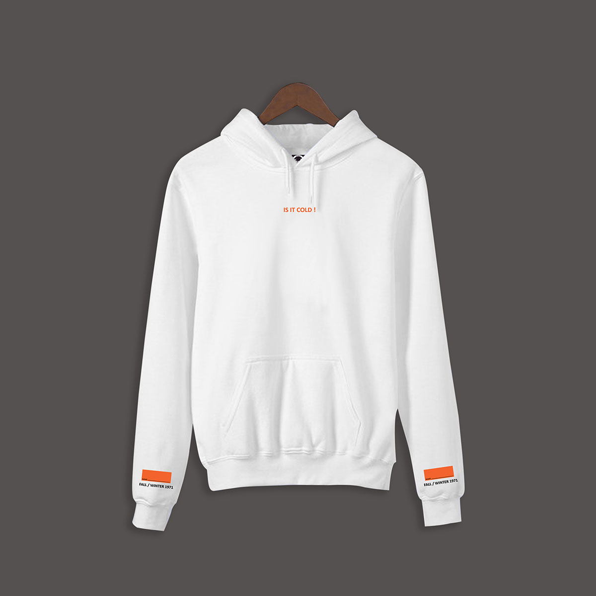 Is it cold Hoodie - White