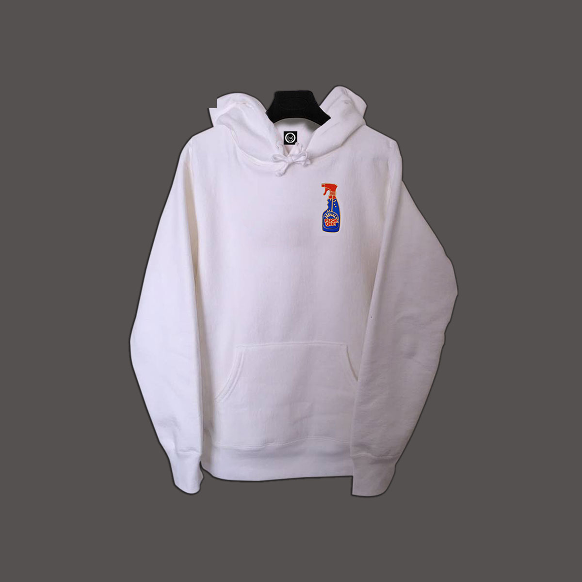 F*Off Pullover Hoodie - White