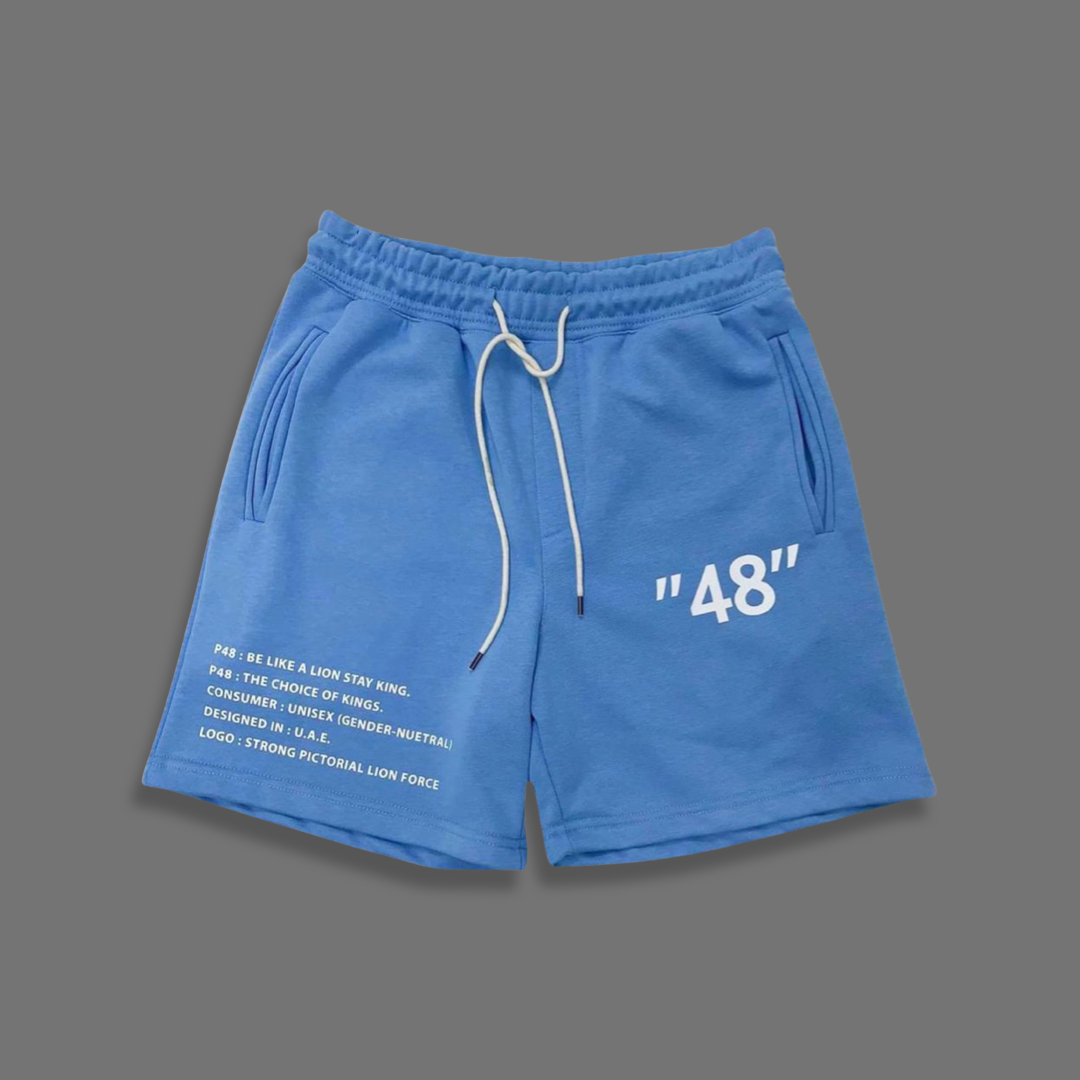 Blue 48 jogging short - Blue
