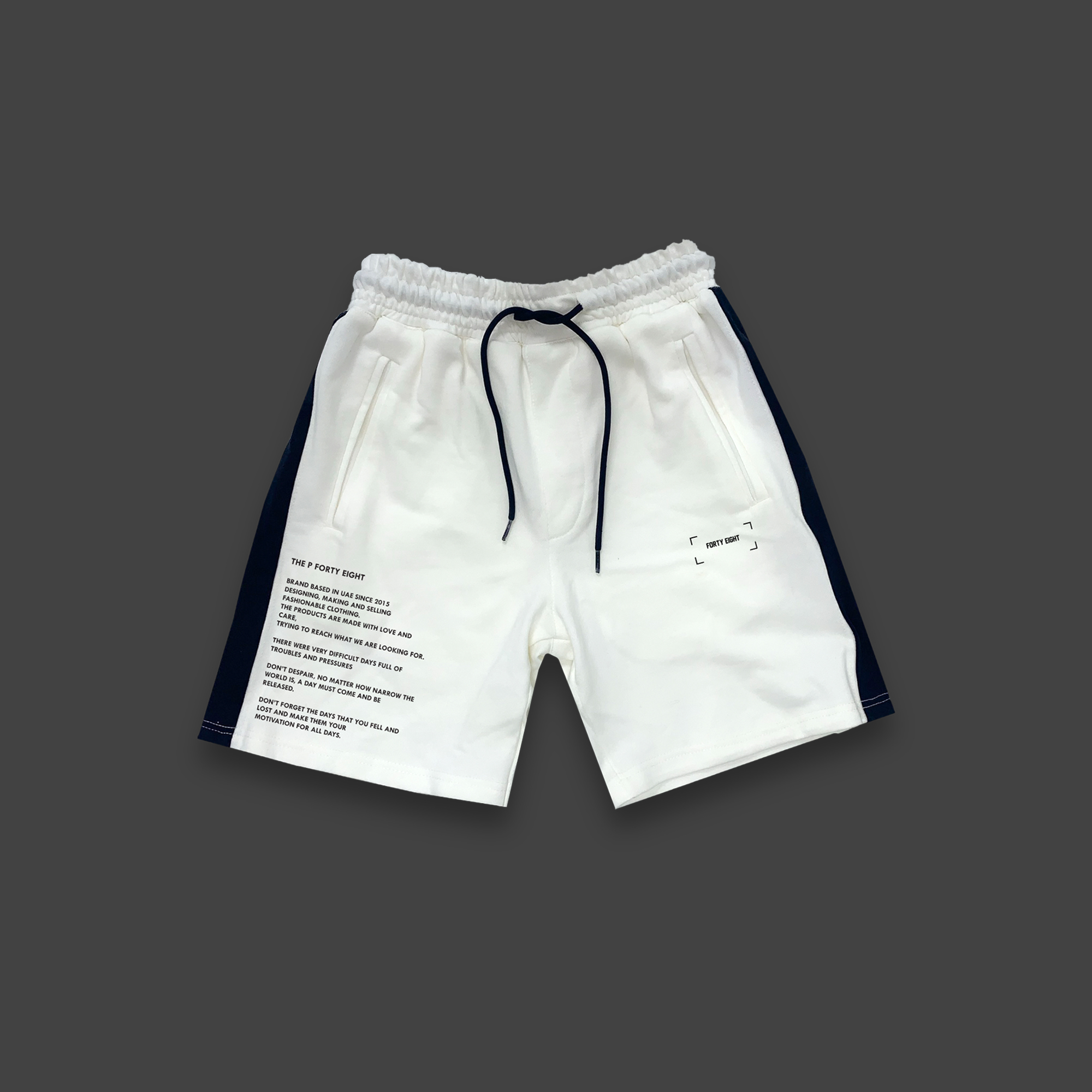 The P Forty Eight Shorts - Off-white
