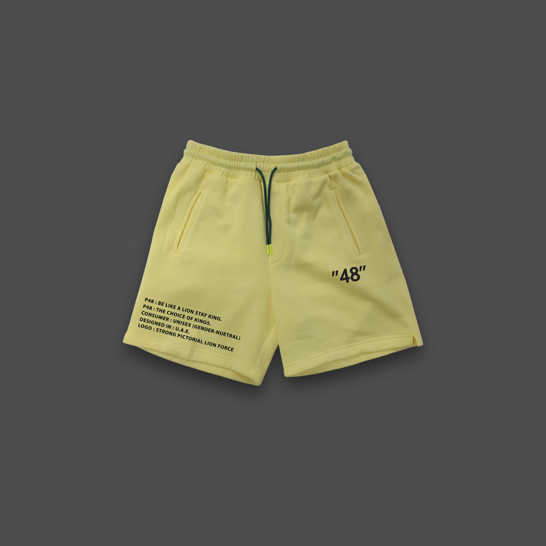 48 jogging shorts - Yellow