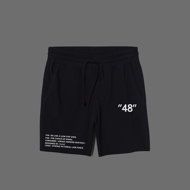 P48 Jogging Shorts - Black