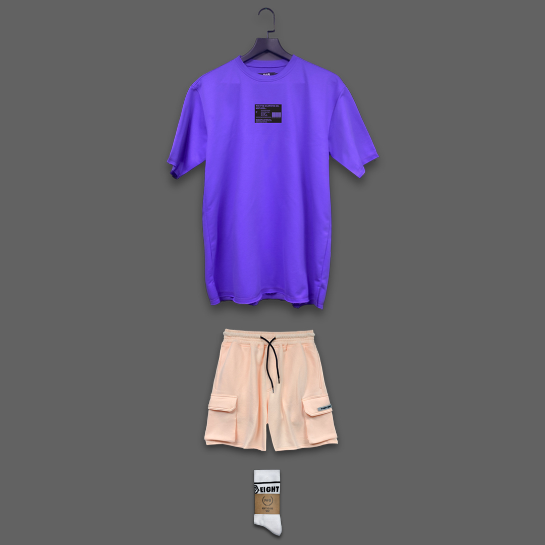 The next level set - Purple & Light Orange
