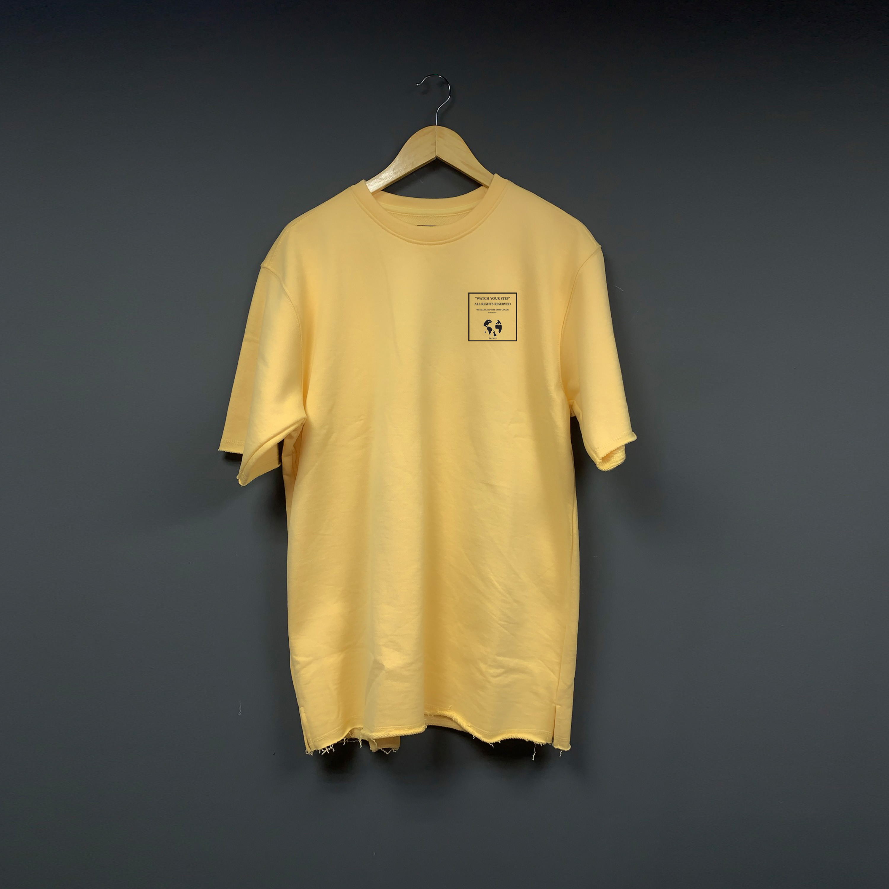 Oversize buff orange t-shirt - Buff Orange