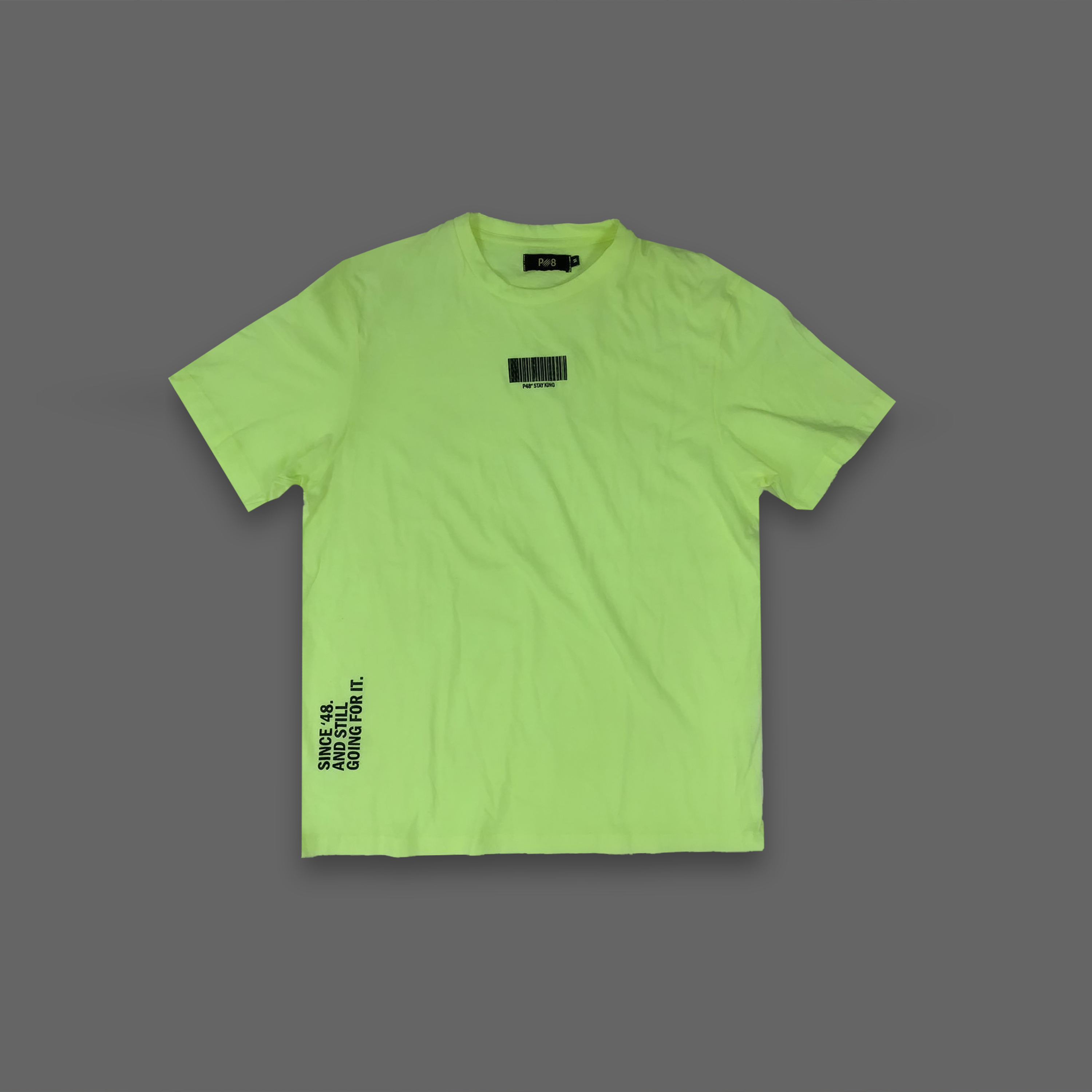 Still going for it Tee - Neon Yellow