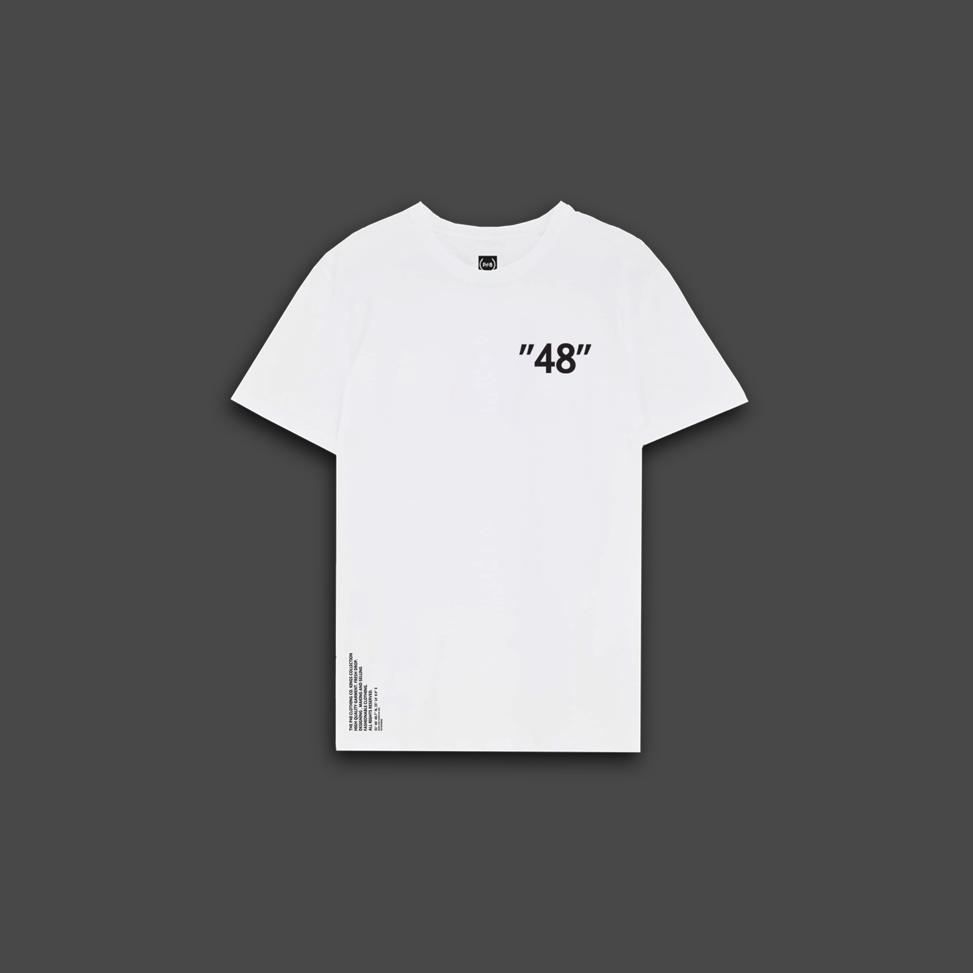 Forty eight Loose-fit T-shirt - White
