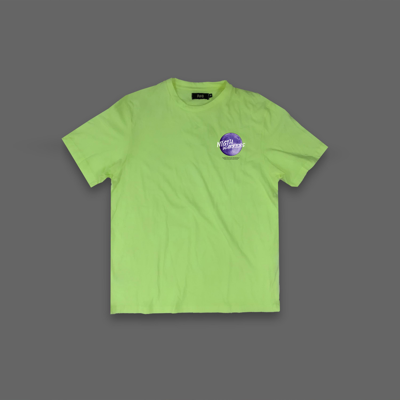Night Warriors T-shirt - Neon Yellow