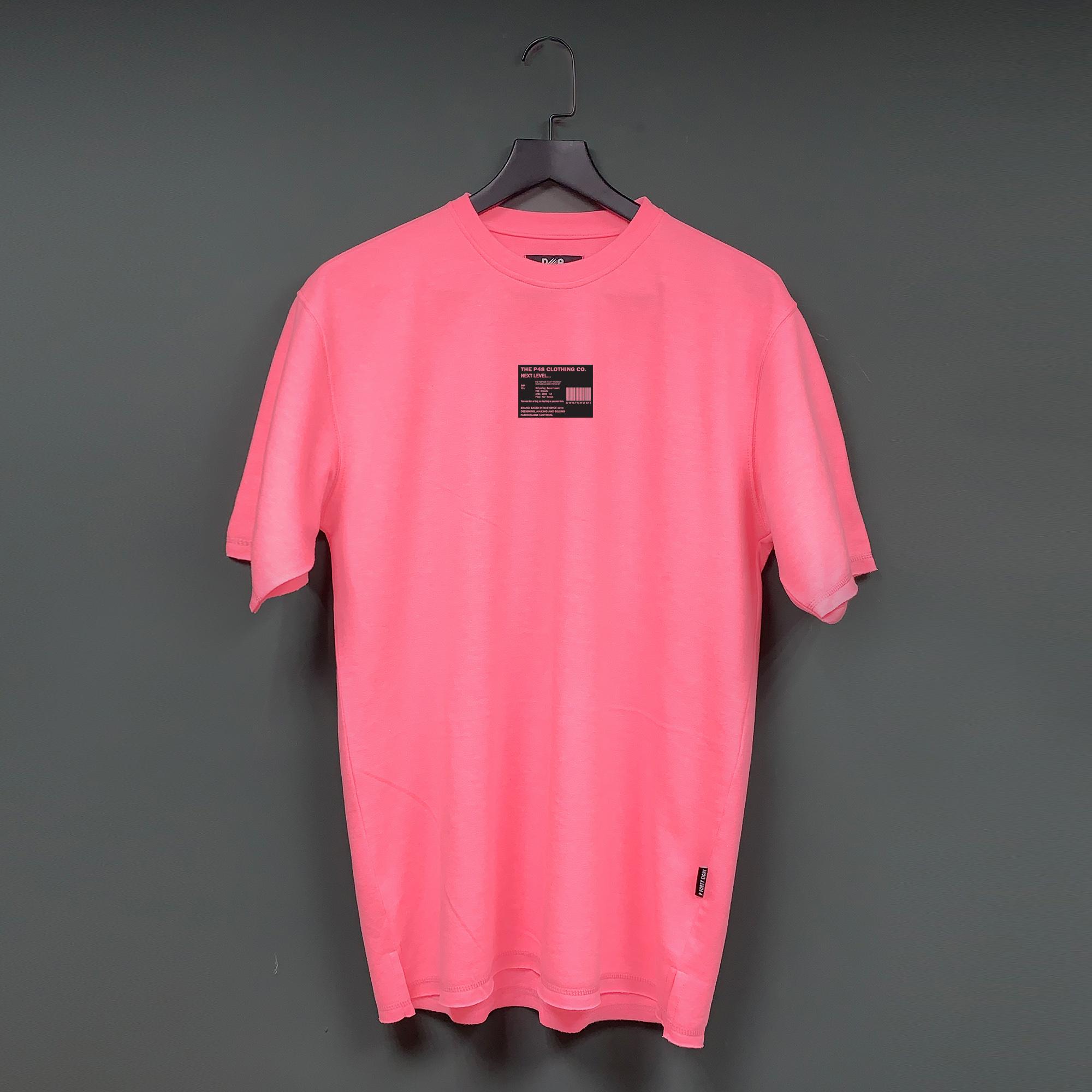 Oversize next level tshirt - Pink