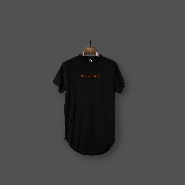 Reverse t-shirt - Black