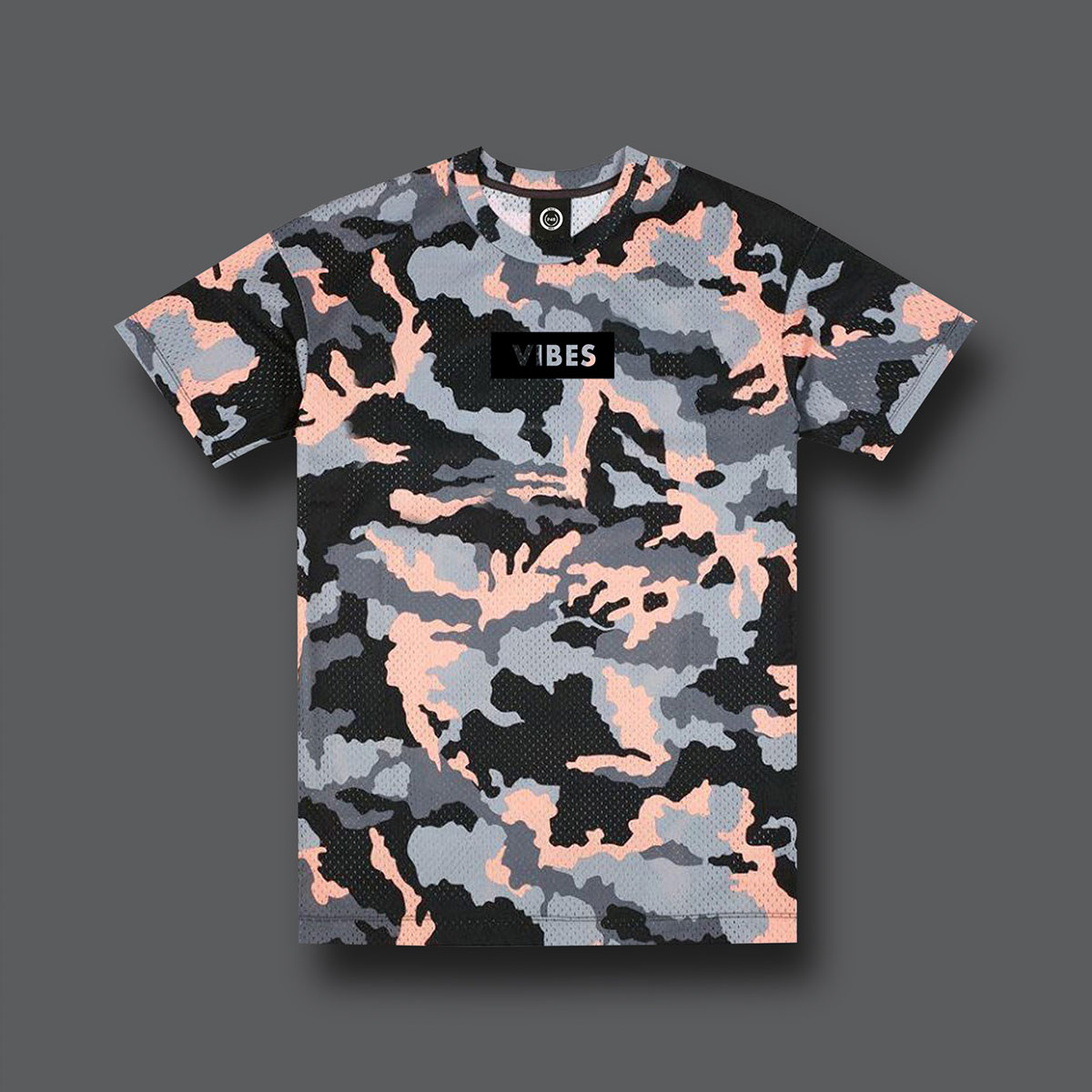 Legend Camouflage T-shirt - Pink