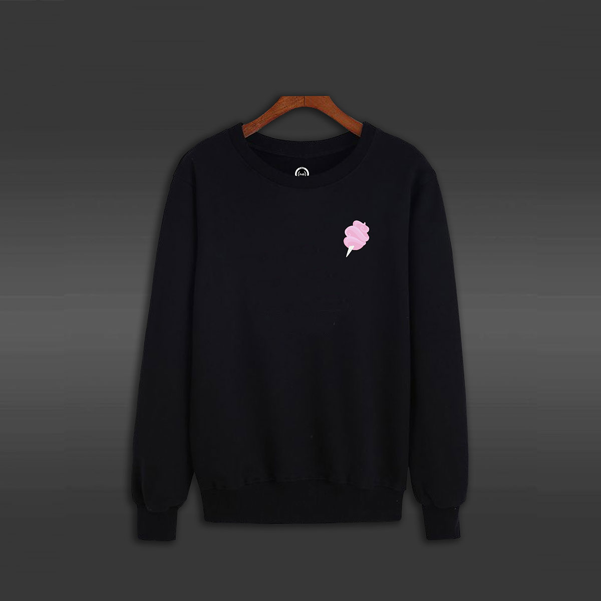 Sugar Crew Neck Sweater - Black