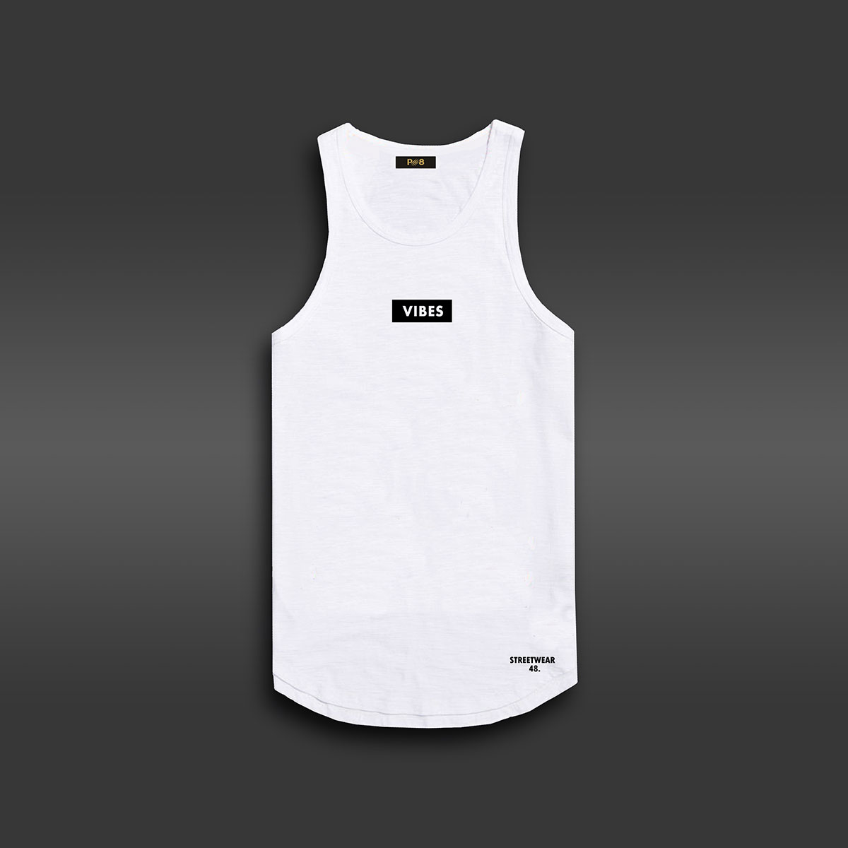 Vibes Tank-top - White