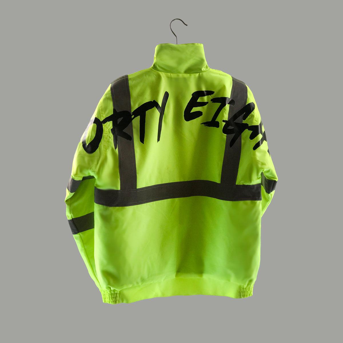 Waterproof Streetwear Jacket - Yellow