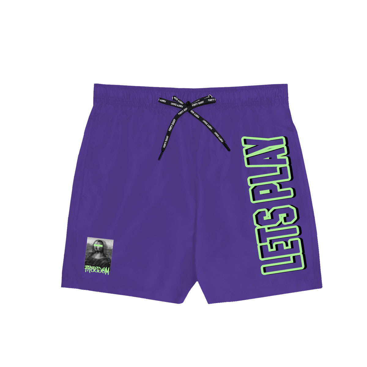 Stay King Swimming Short - Purple