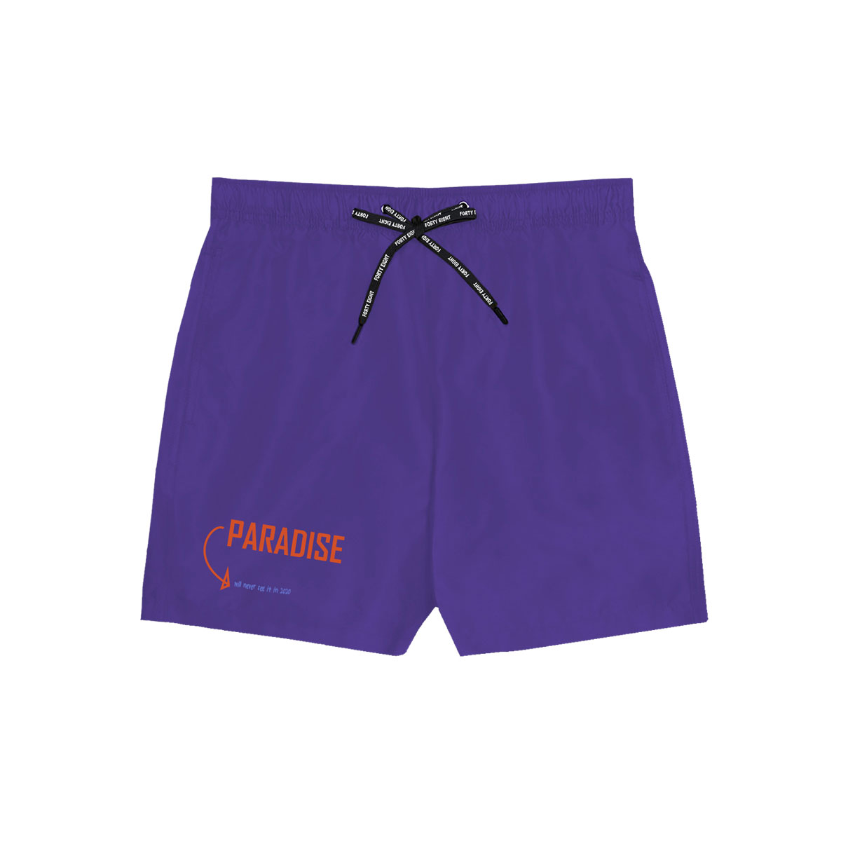 Paradise Swimming Short - Purple