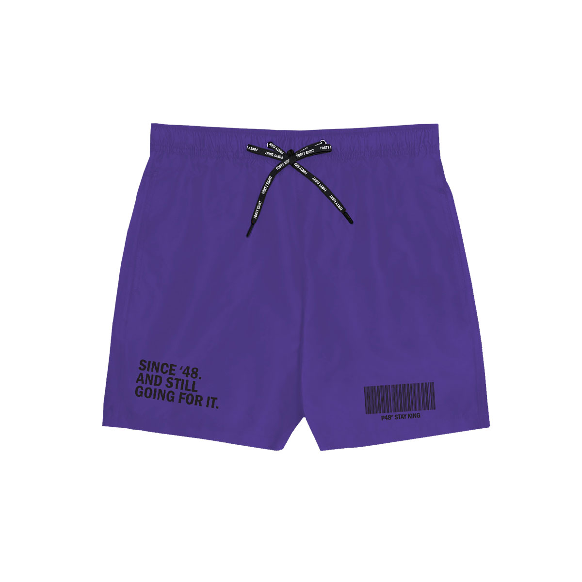 Since 48 Swimming Short - Purple