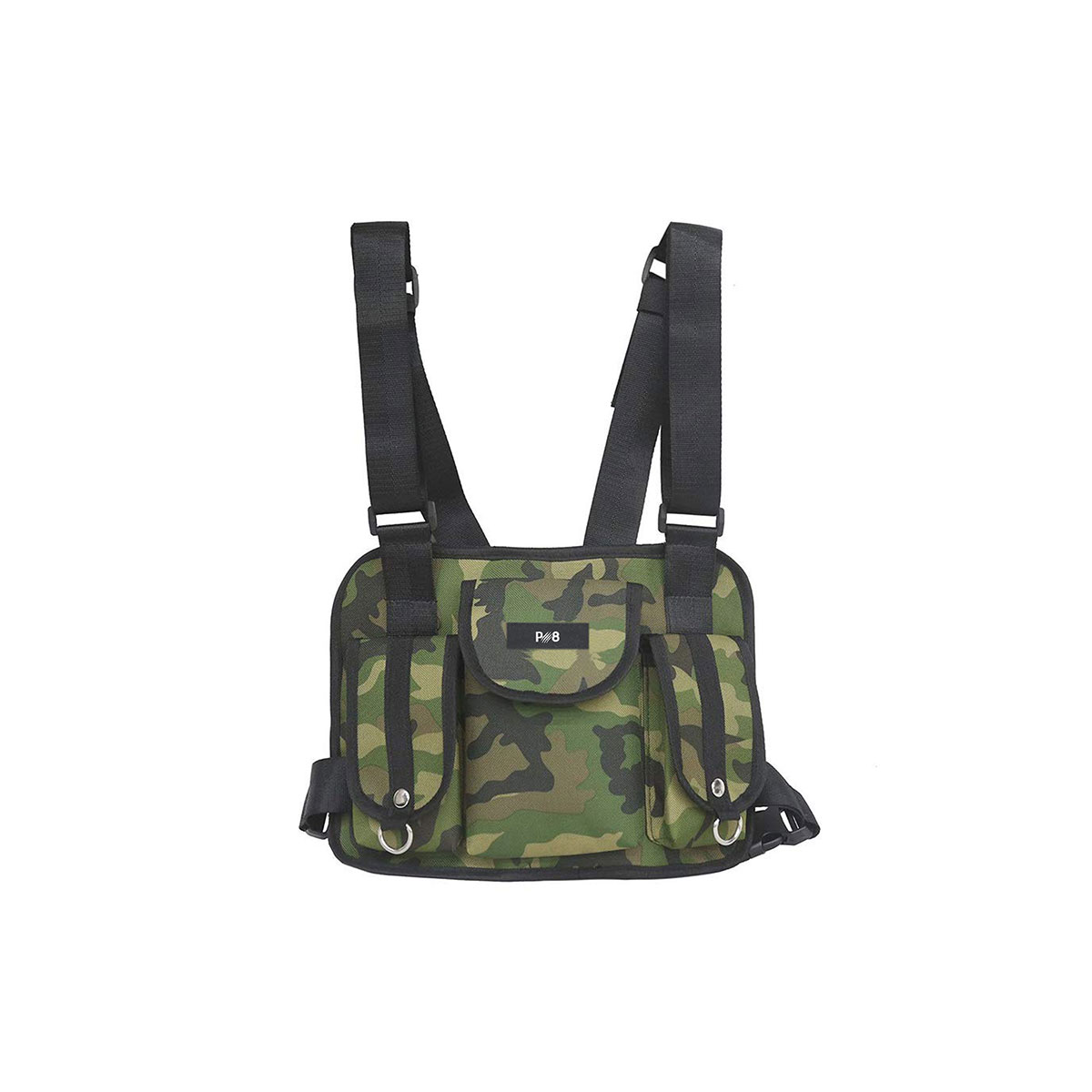 Chest Front Bag - Camouflage