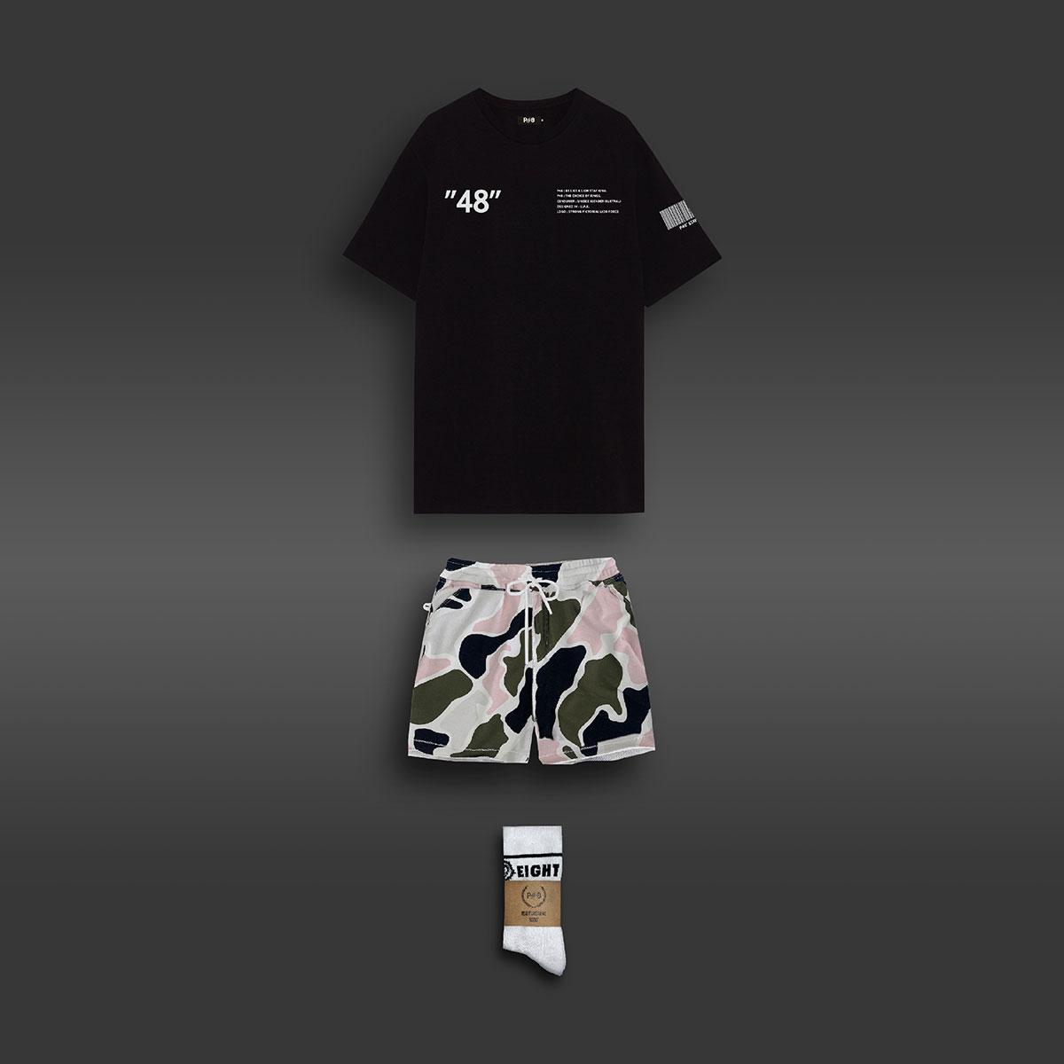 Casual Summer Set - Black