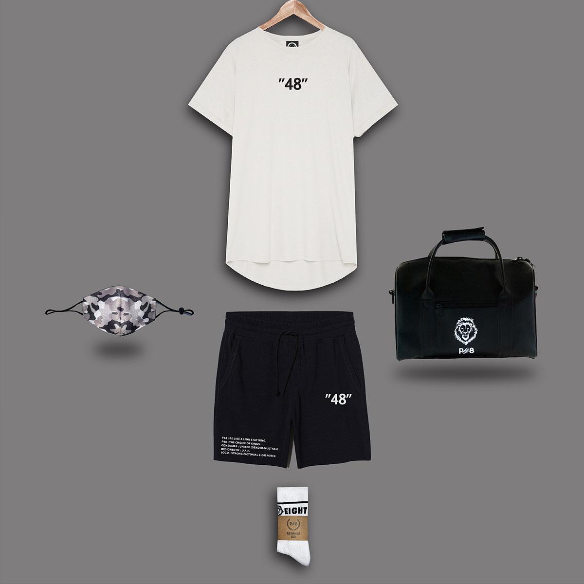 Streetwear Set - Black & White