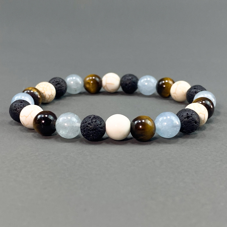 Stone Bracelet - Black Tiger eye