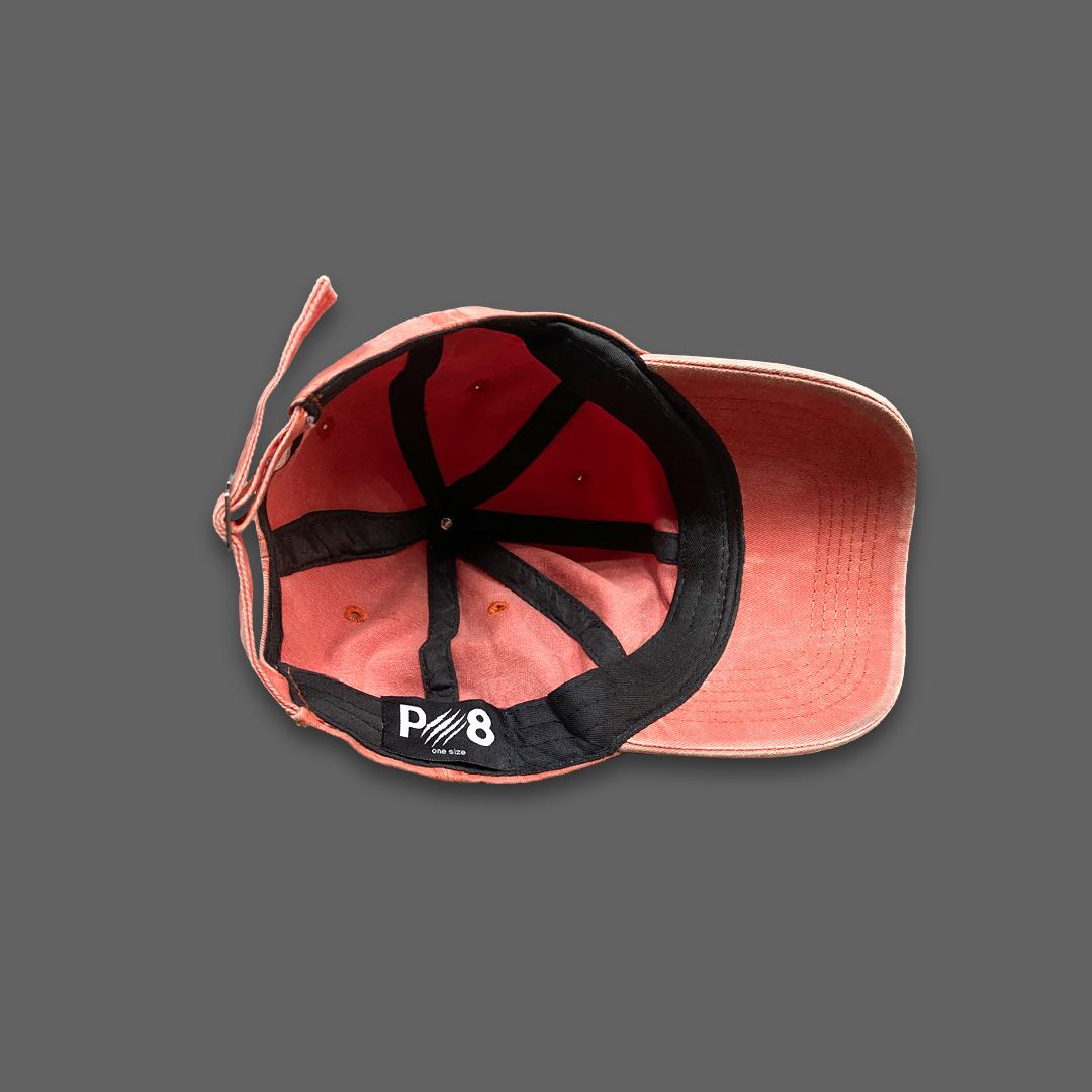 WASHED BASEBALL HAT - Orange