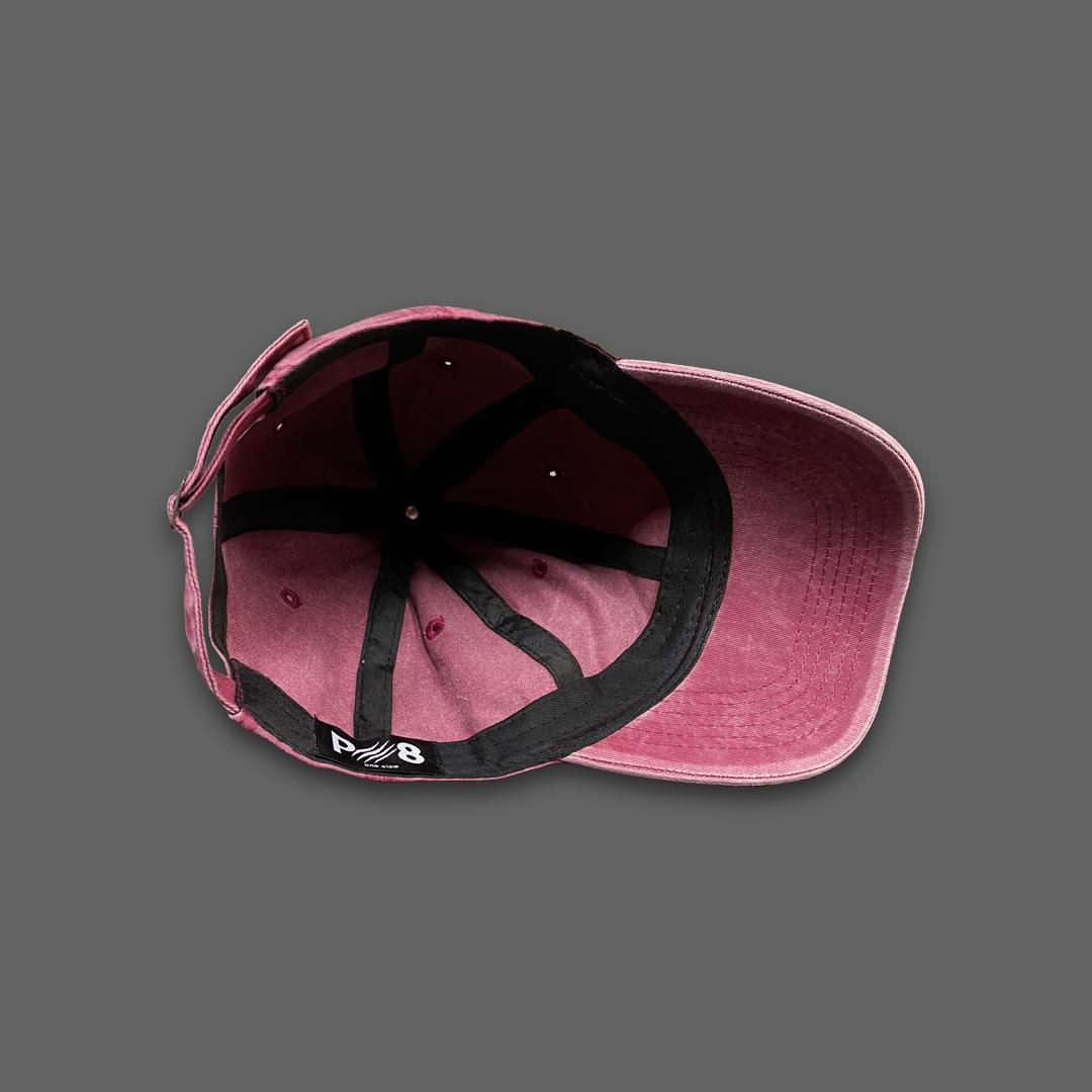 WASHED BASEBALL HAT - Pink