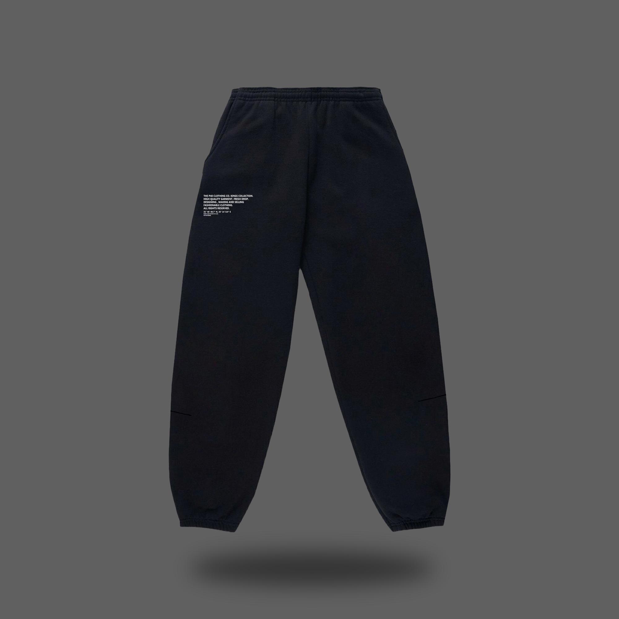 P48 Jogger Pants - Black