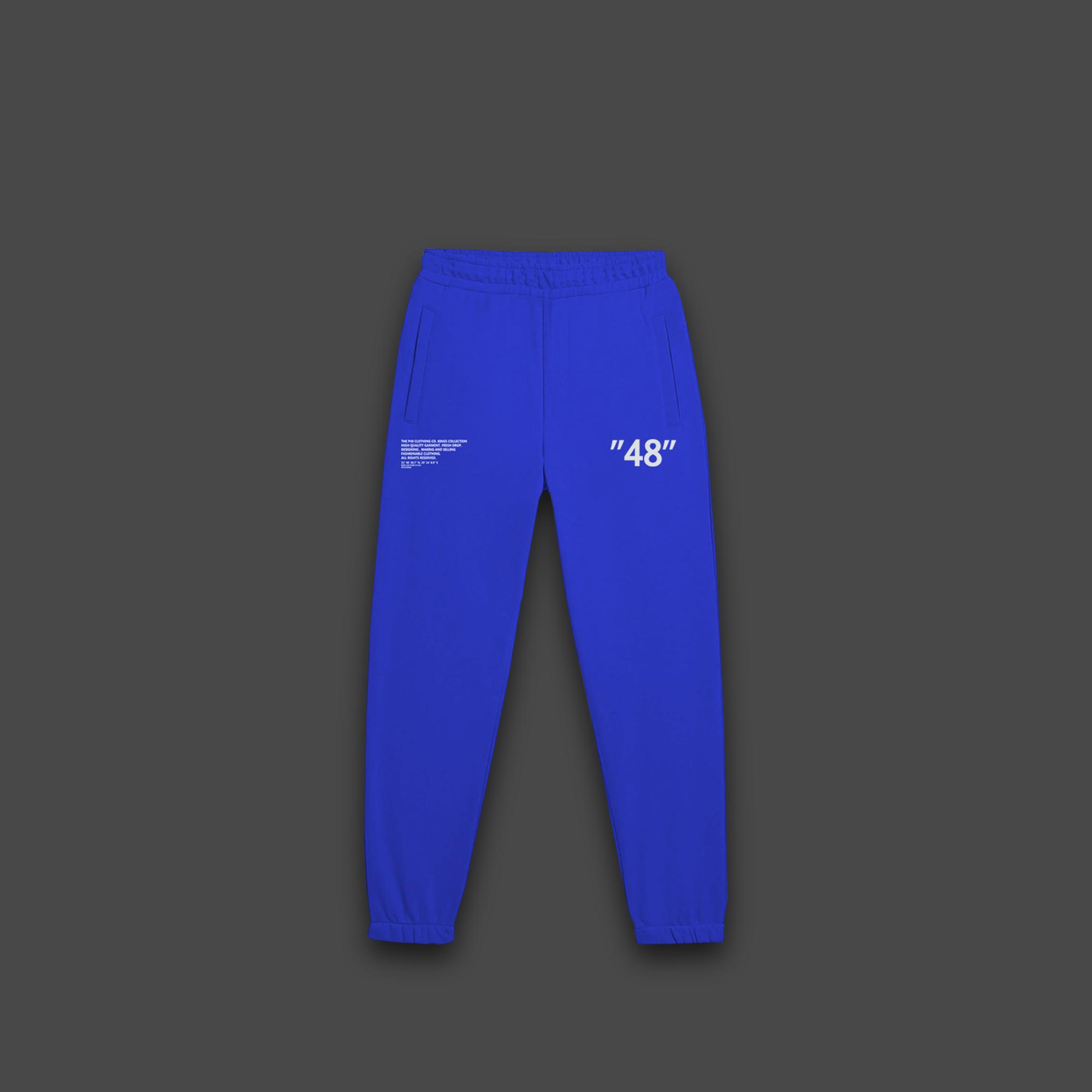 48 Sweatpants - Blue