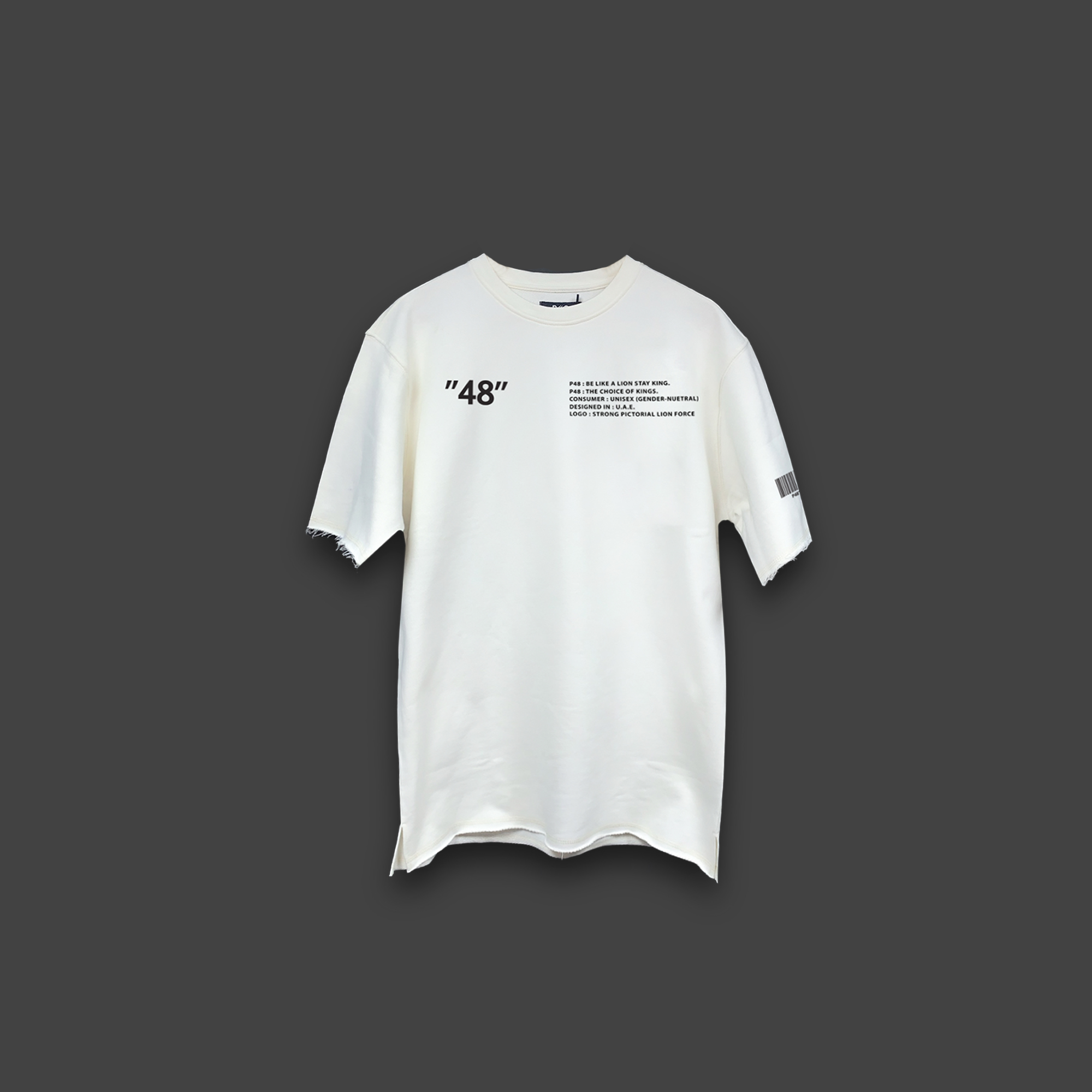 48 OVERSIZED T-SHIRT - Off-white