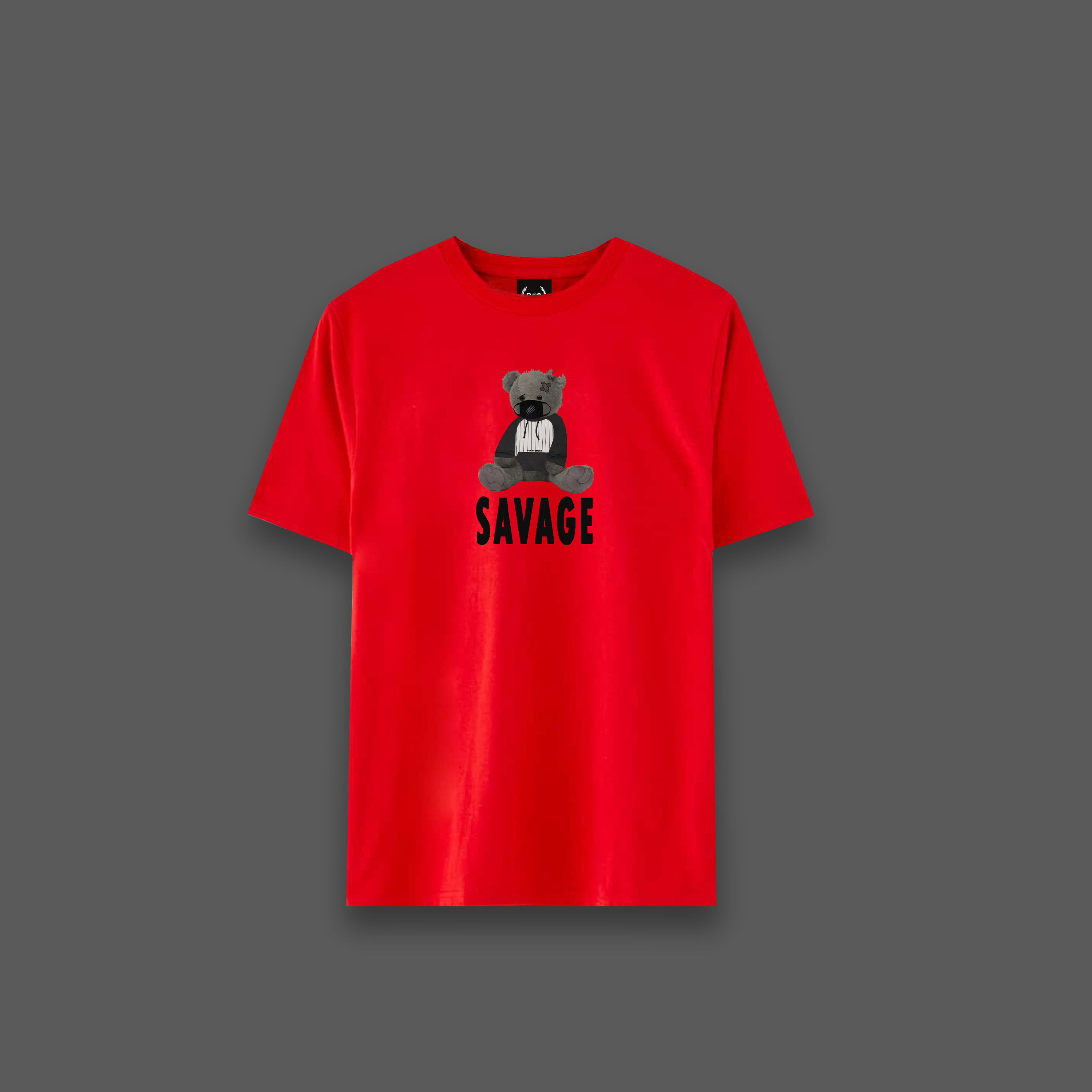 Savage Bear T-shirt - Red