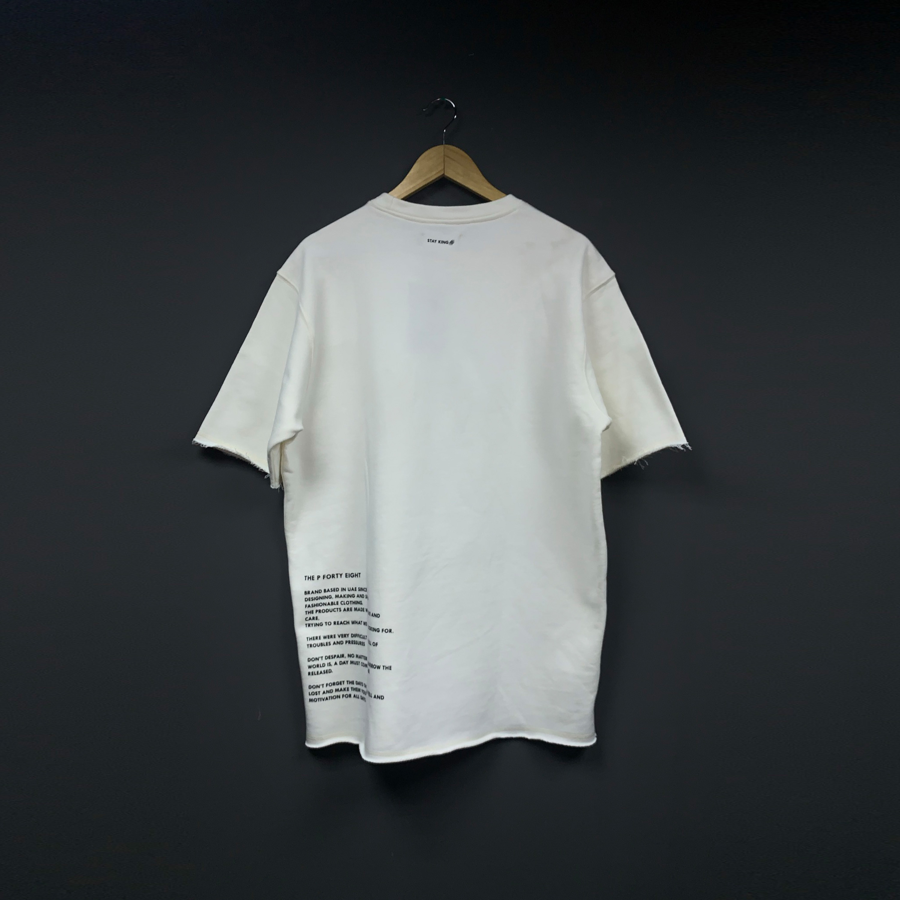 The Postage Oversized T-shirt - Off-white