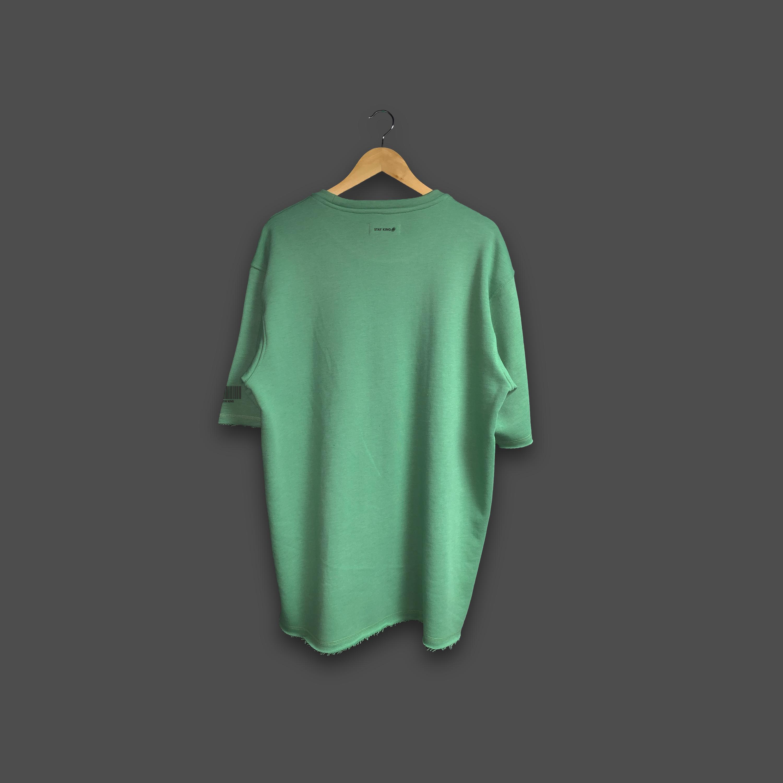 48 OVERSIZED T-SHIRT - Olive Green