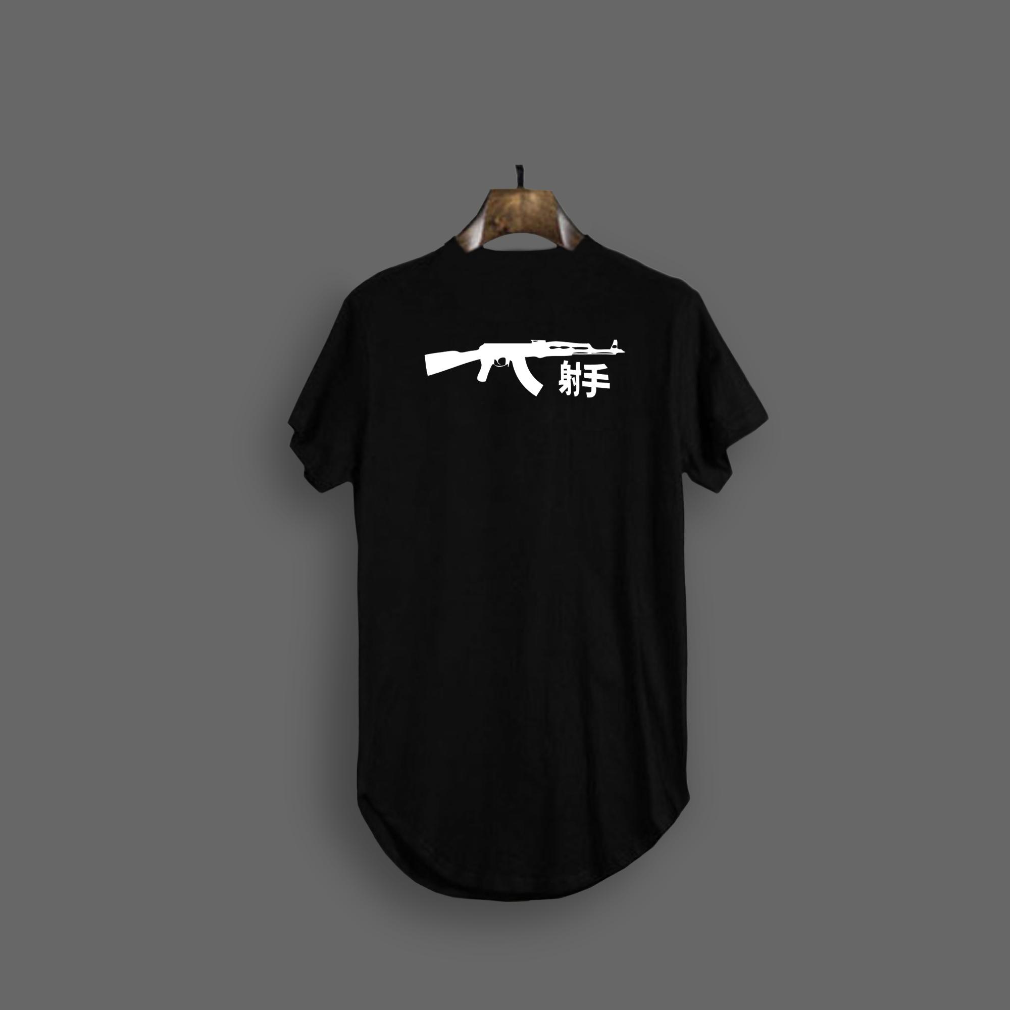 AK47 T-SHIRT - Black