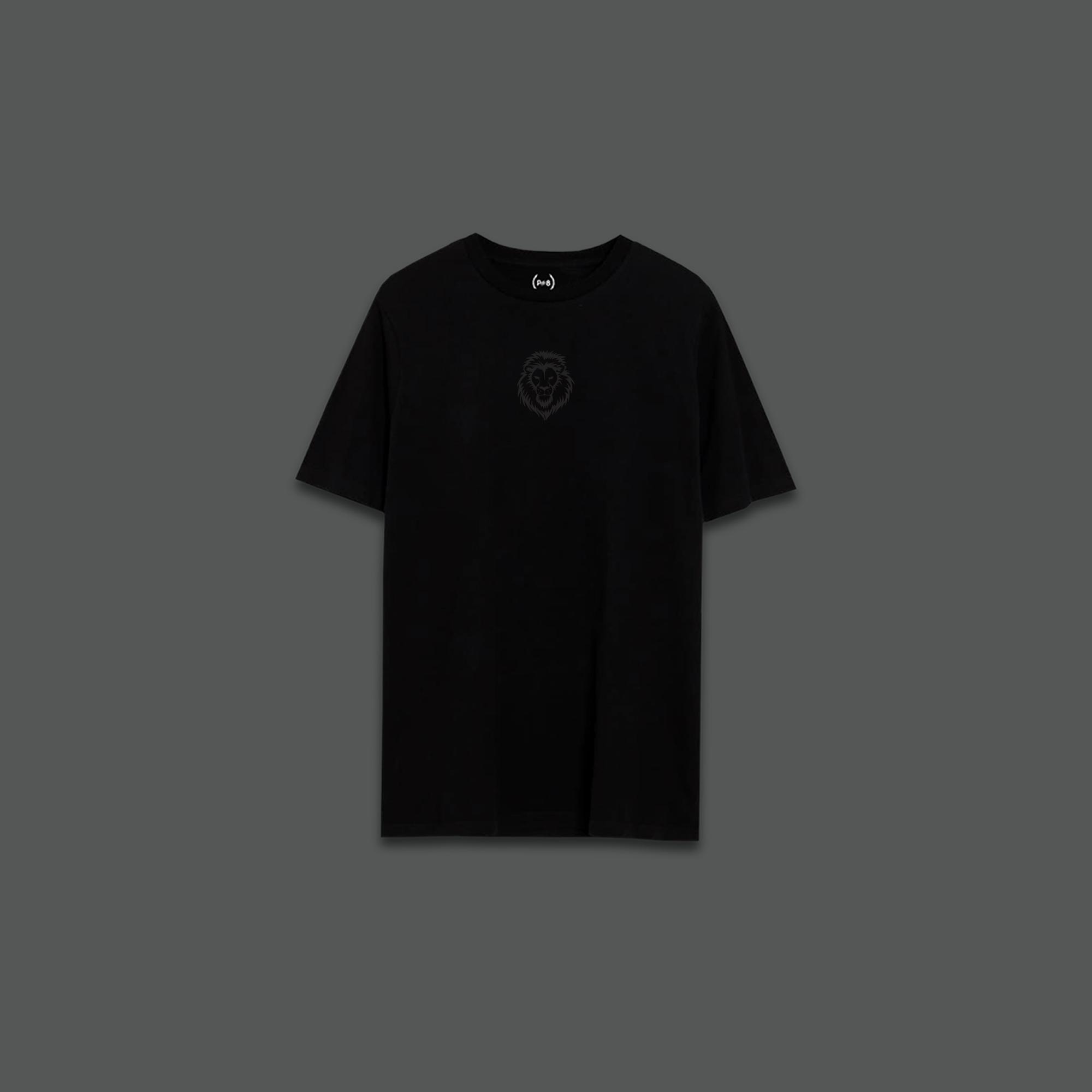 LION T-SHIRT - Black