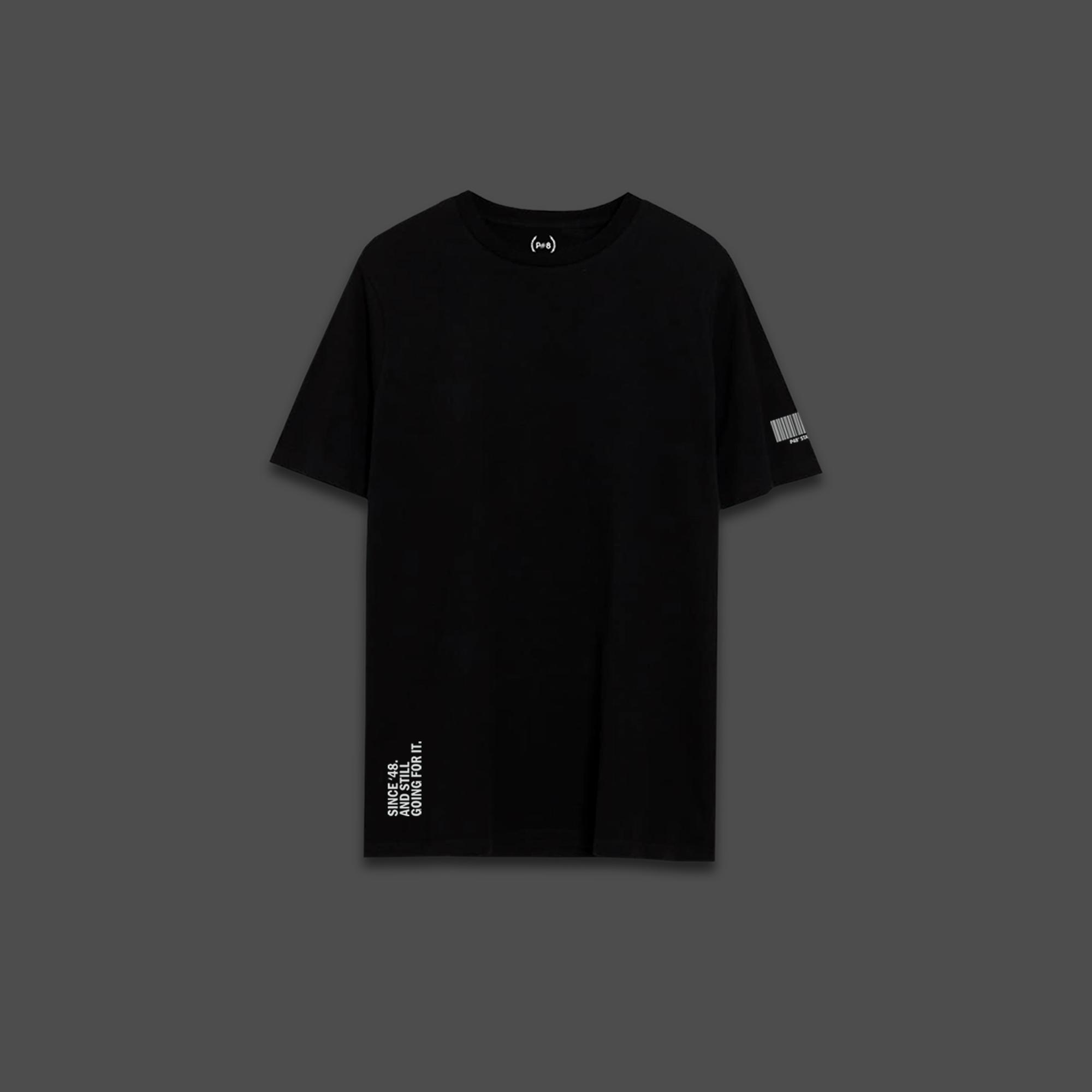 Since 48 T-shirt - Black
